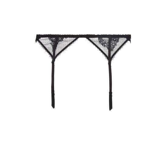 Porte-jarretelles noir obsidieniz;