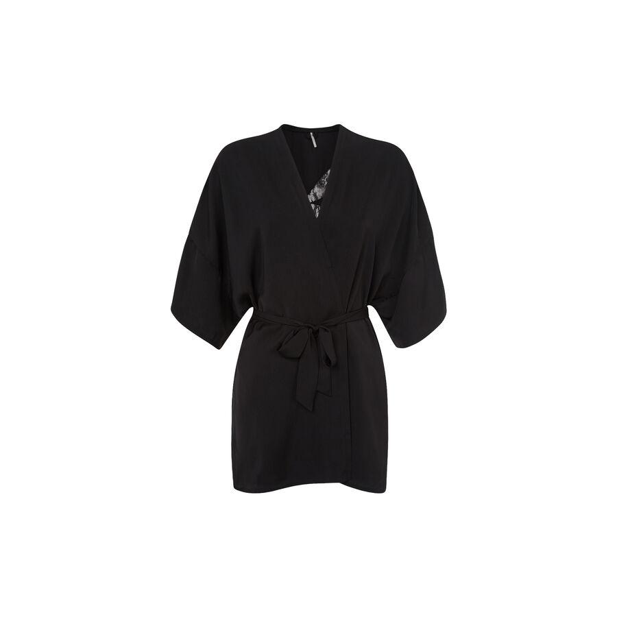 Kimono noir kabukiz;${refinementColor}