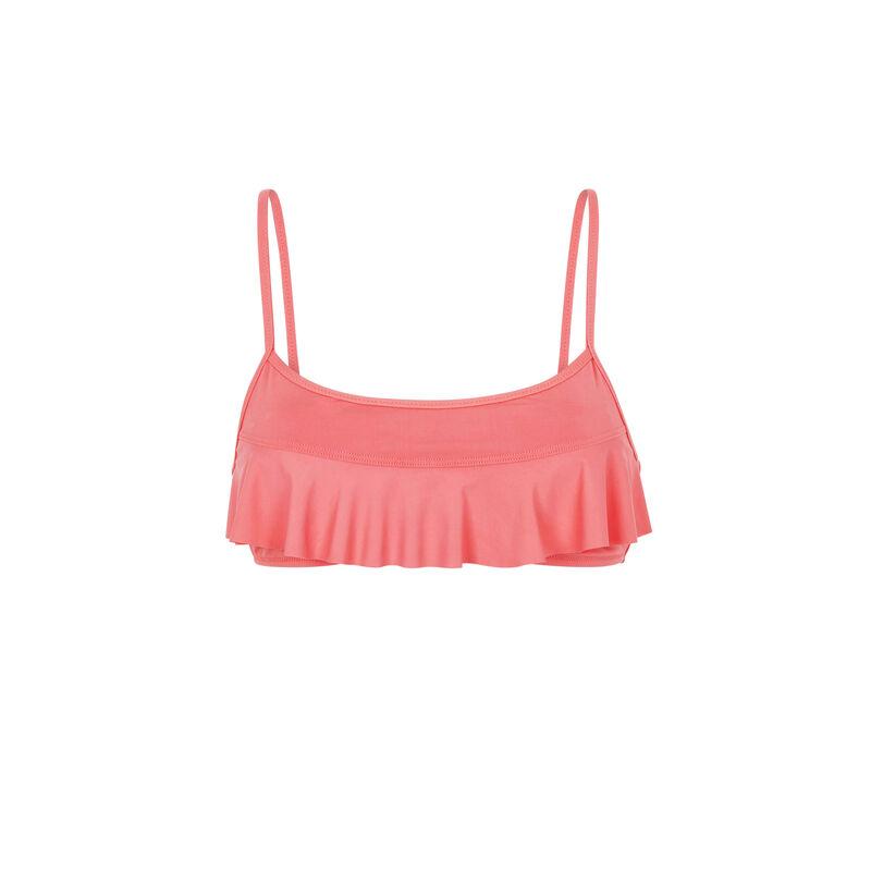 Haut de maillot de bain bralette rose sifnosiz;