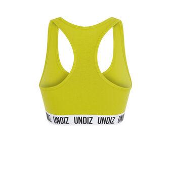 Brassière jaune sportiviz yellow.