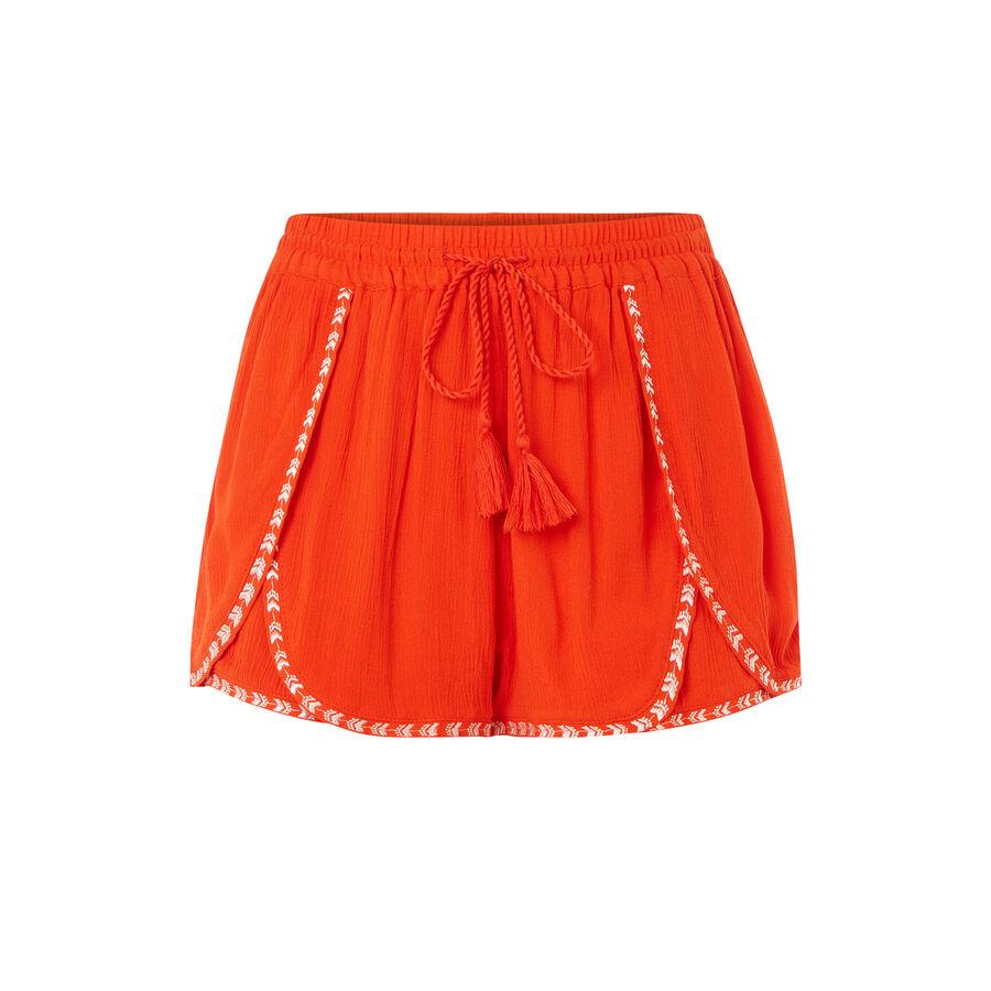 Trioukiz orange shorts;${refinementColor}