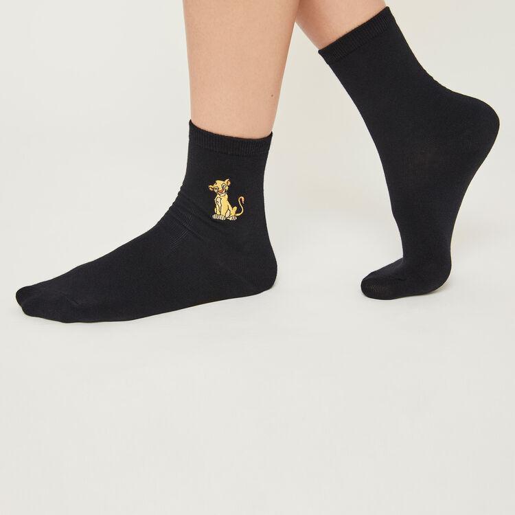 Chaussettes noires lionkingiz;