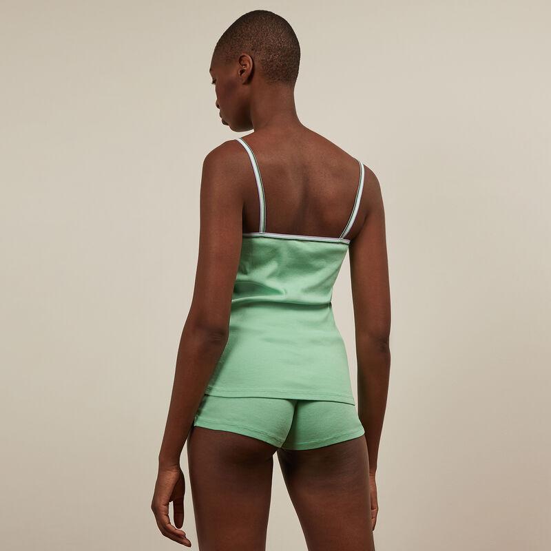 set caraco + short - vert;