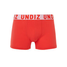 Pluboiz red boxer shorts red.