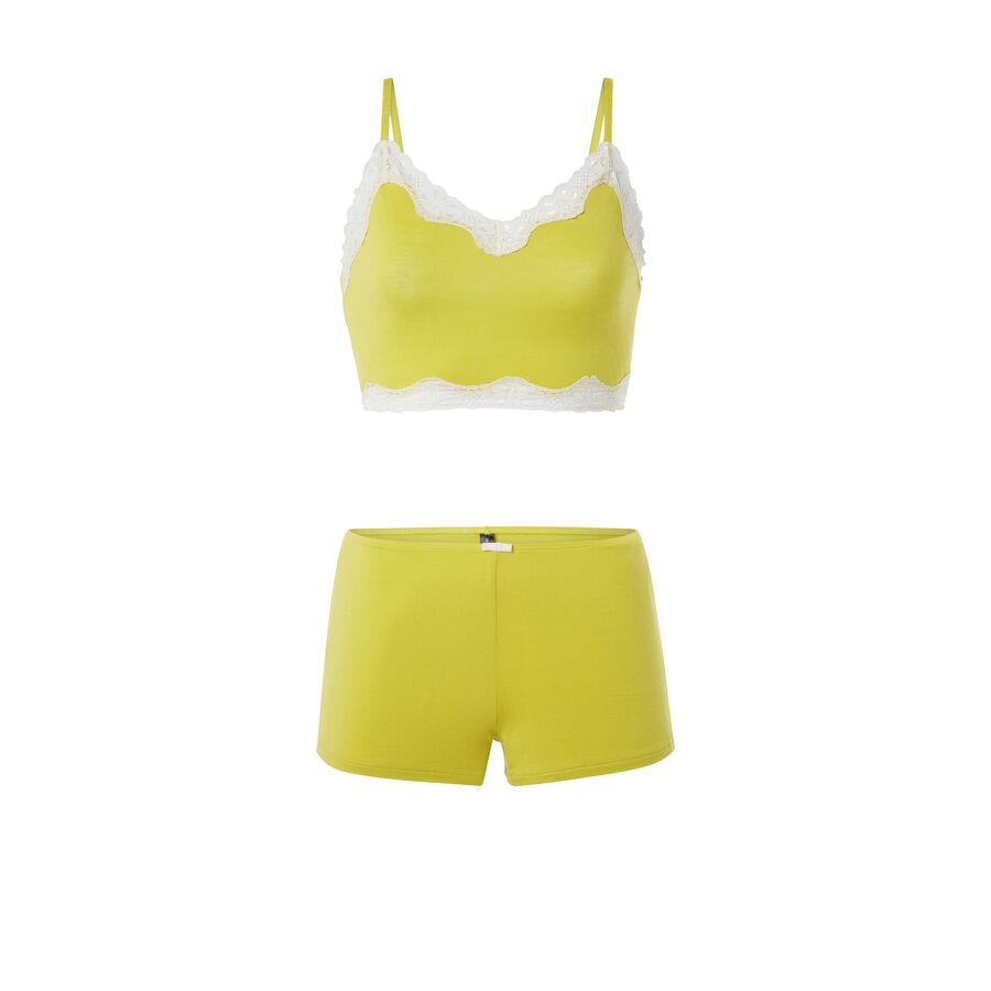 Ensemble de pyjama jaune versatiz;${refinementColor}