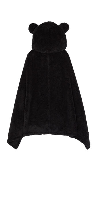 Poncho noir cutemiz black.