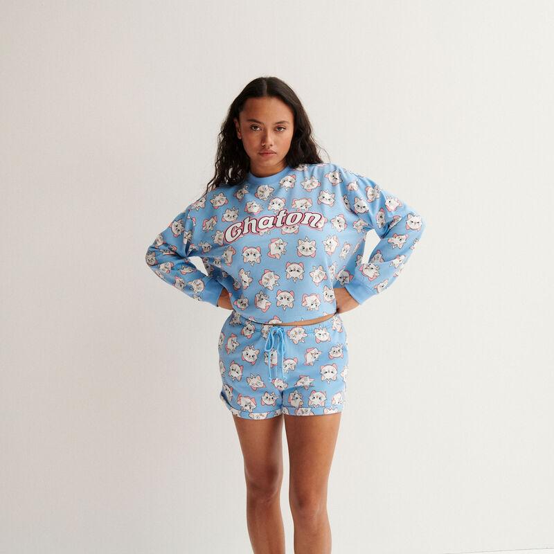 short marie les aristochats - baby blue;