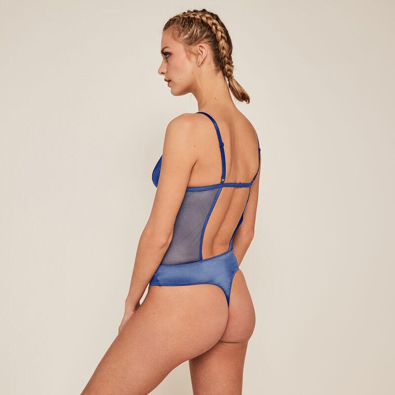 Body string sans armatures - bleu;