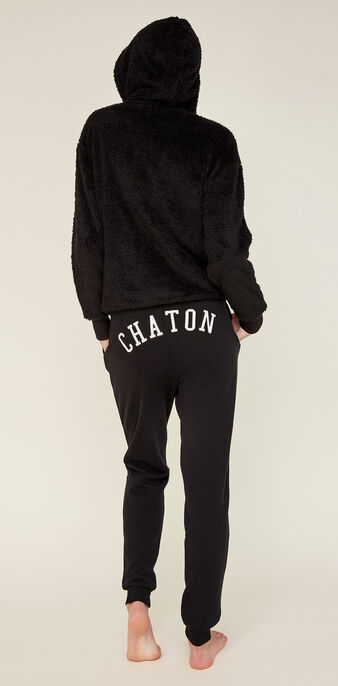 Pantalon noir chatonixiz black.