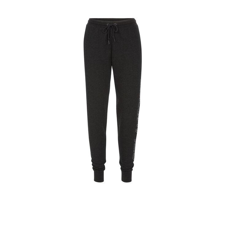 Pantalon gris foncé chiné almightiz;