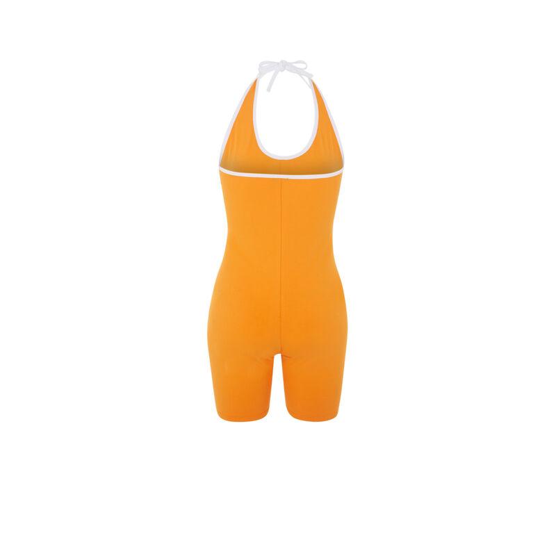 Combinaison mi-cuisse - orange;