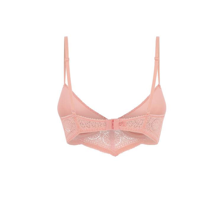 Soutien-gorge bustier push rose buttonilaciz pink.