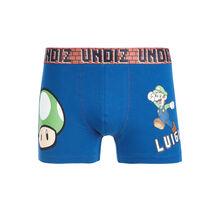 Playluiz navy blue boxer shorts blue.