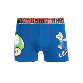 Boxer bleu marine playluiz blue.