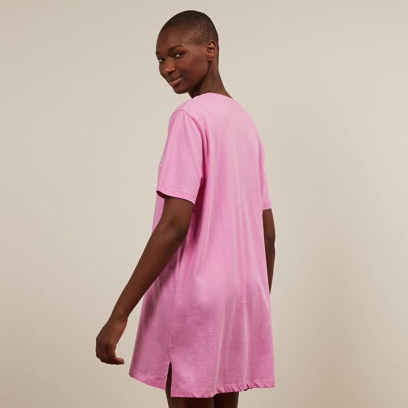 tunique imprimé all boobs - rose;