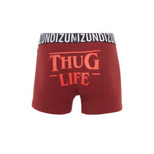 Badboyiz burgundy boxer shorts red.