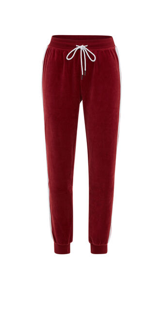 Pantalon rouge foncé anoeliz biking red.