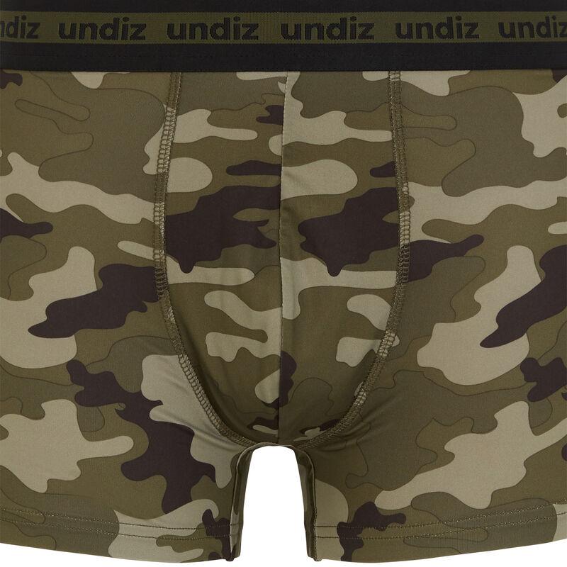 Boxer imprimé camouflage - noir;