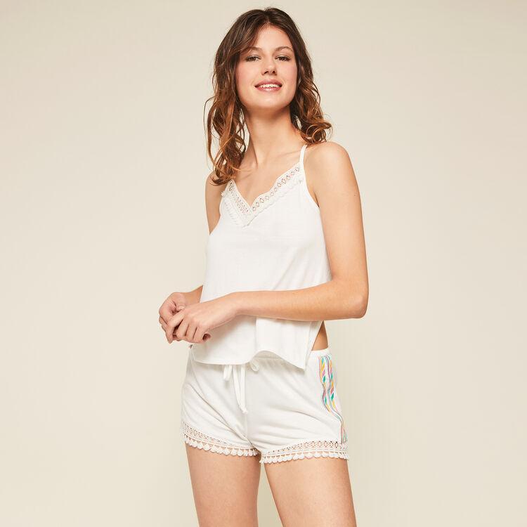 Short blanc futurbestiz blanc.