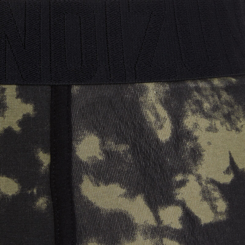 boxer coton à imprimé tiedykakiiz;