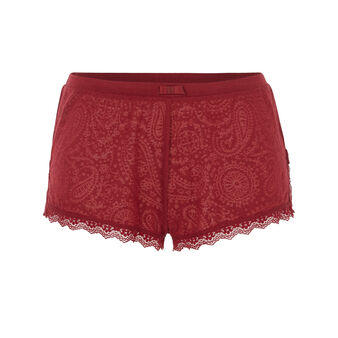 Short bordeaux lascaliz red.