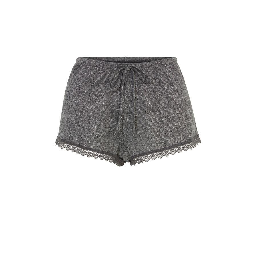 Short gris luvitamiz;