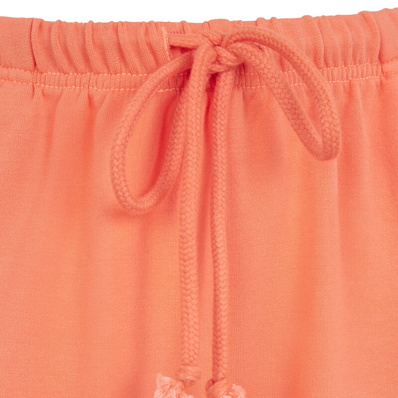 short molletoné - orange ;