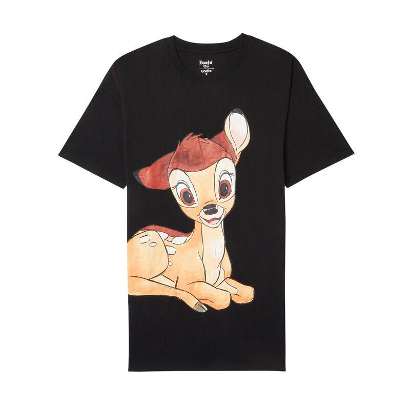 tunique imprimé bambi - noir;