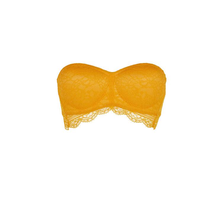 Soutien-gorge bandeau safran everydayiz orange.