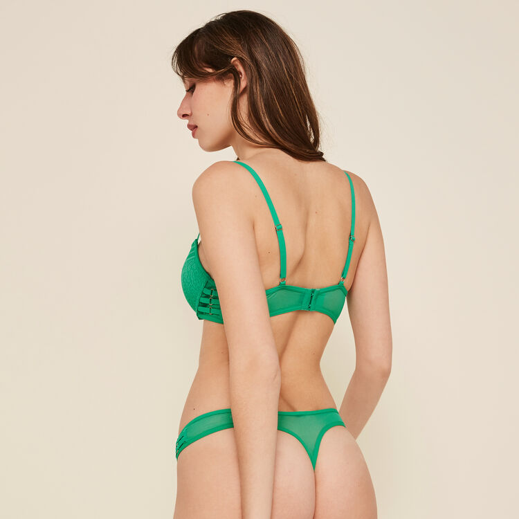 String vert émeraude triasiz vert.