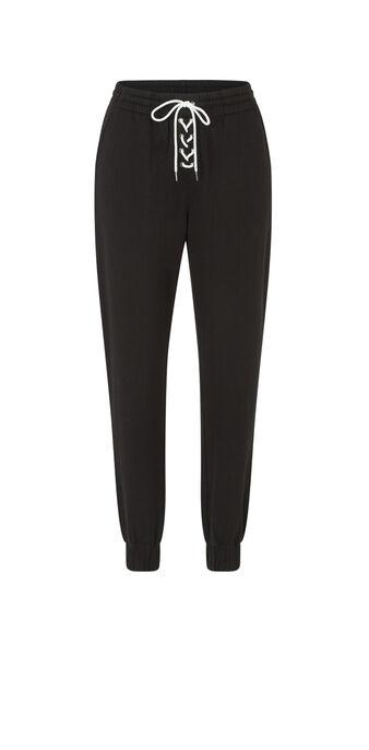 Pantalon noir delaciz black.