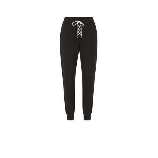 Pantalon noir delaciz;