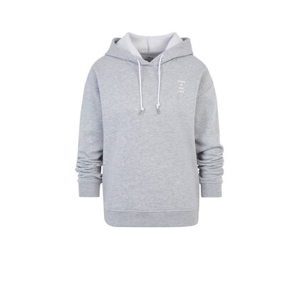 Sweat gris pocatiz white.