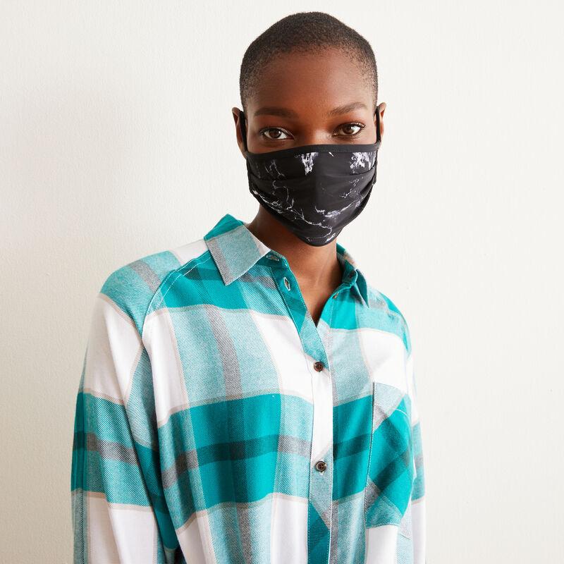 lot 3 masques noir/marbre - noir;