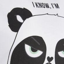 Top blanc pandacutiz white.