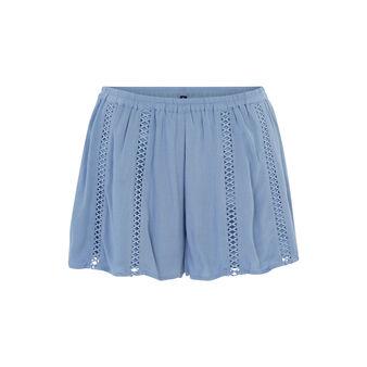 Short bleu gris lilopopiz blue.