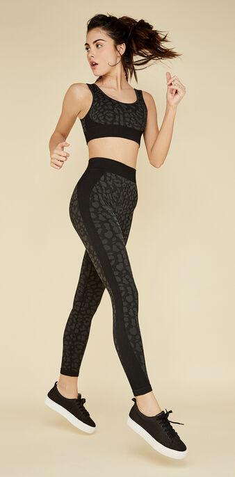 Legging de sport noir leopardiz black.