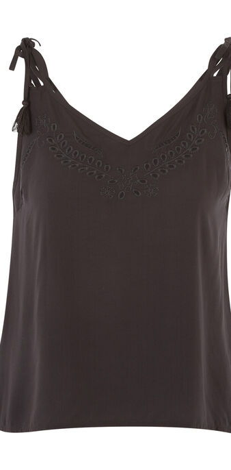 Top noir richeliz black.