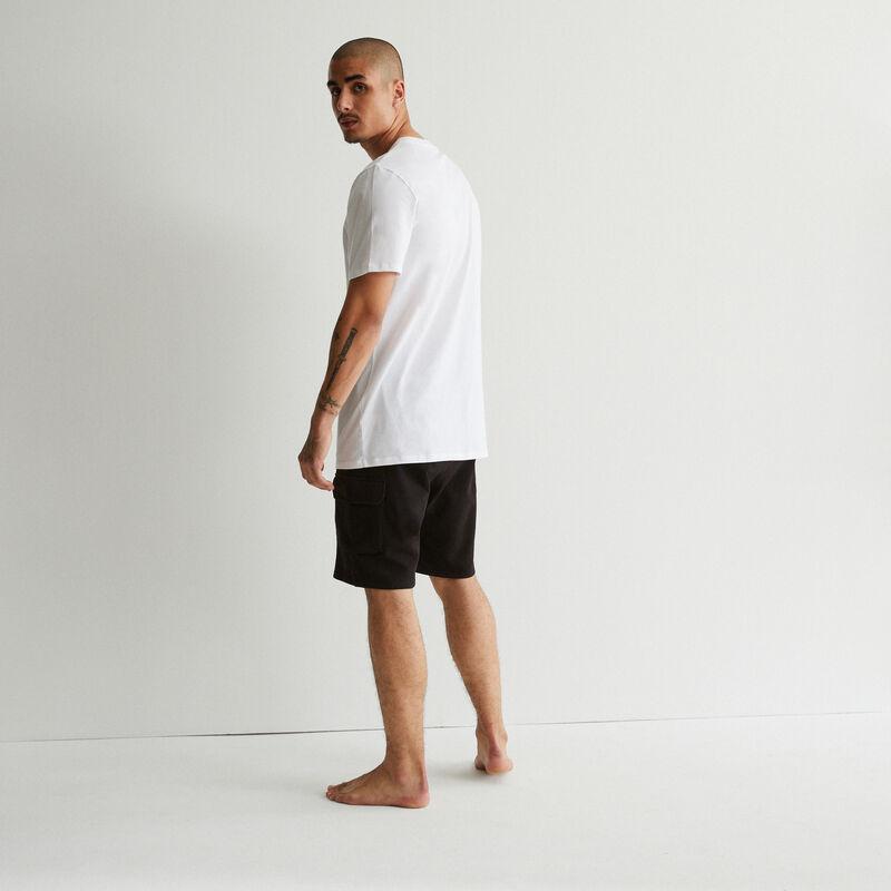 set de pyjama à imprimé banane - blanc;