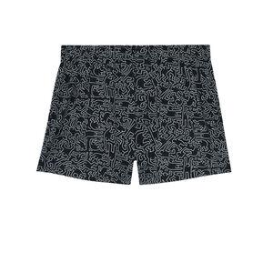 caleçon Keith Haring - noir
