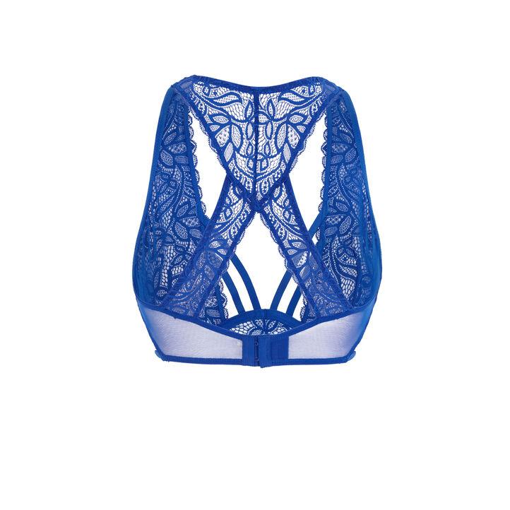Soutien-gorge foulard corbeille bleu stripiniz niebieski.
