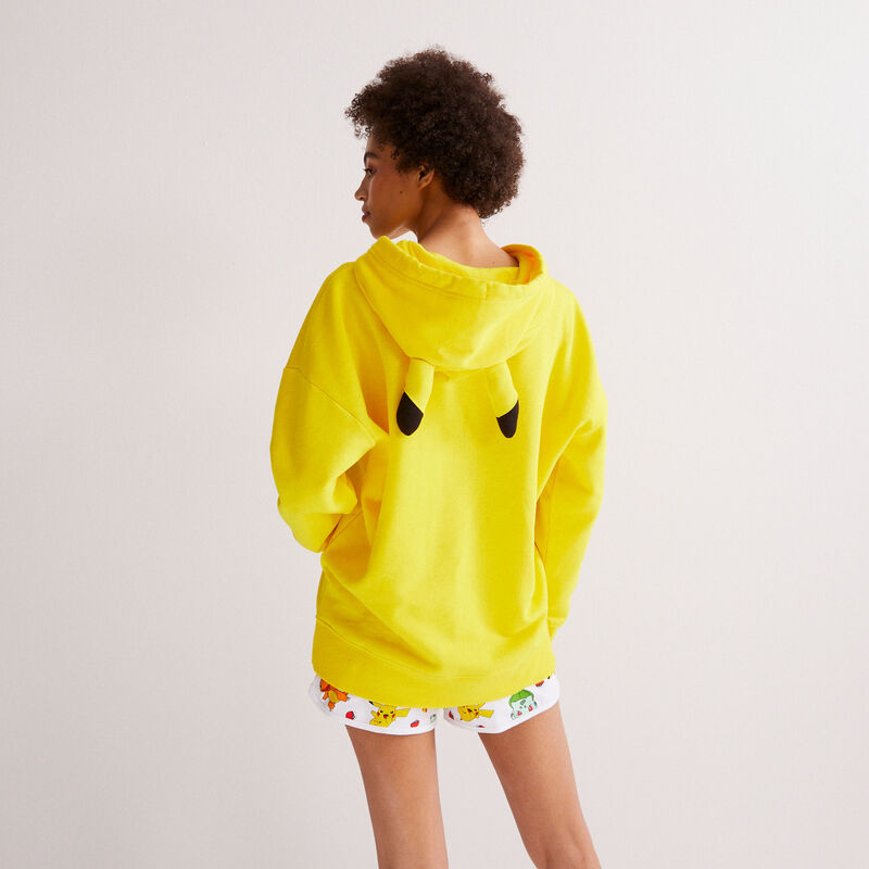 sweat Pikachu - jaune;