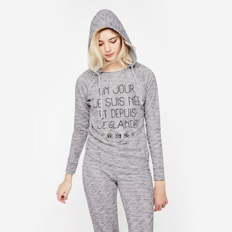 Glandaniz light grey sweatshirt grey.