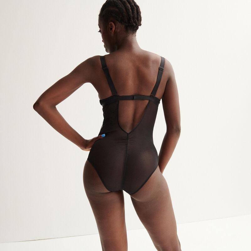 body à lien Aya x undiz - noir;