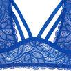 Soutien-gorge foulard corbeille bleu stripiniz;