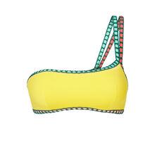 Asykiniz yellow bikini top.