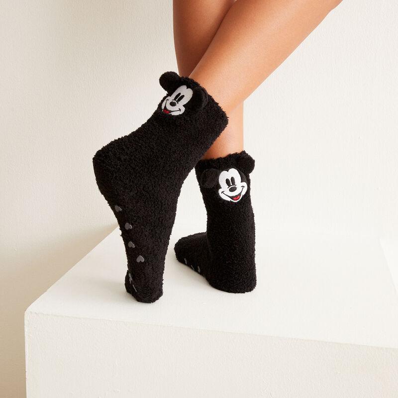 chaussette Mickey - noir;