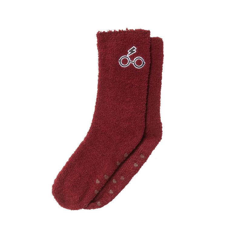 chaussettes à motifs harry potter - bordeaux;