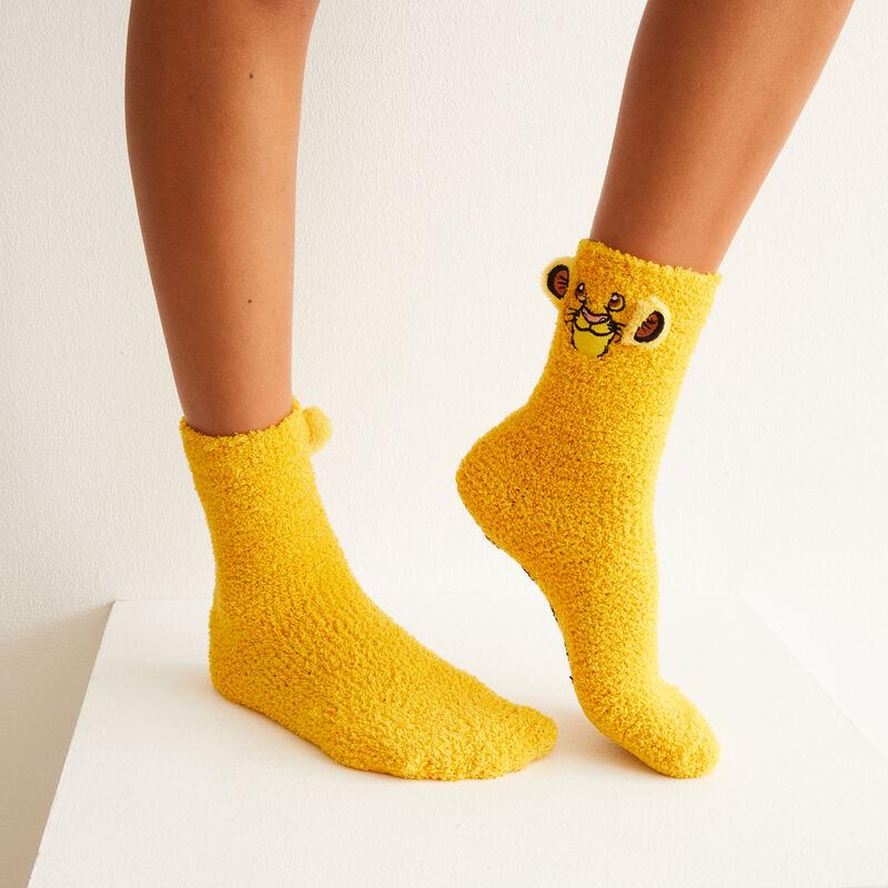 chaussette Simba - jaune;