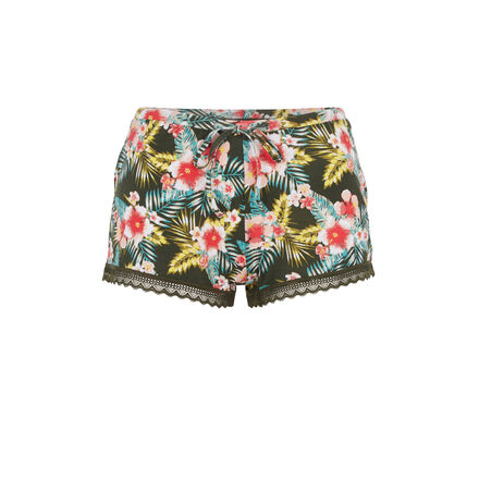 Short kaki tropicaliz green.
